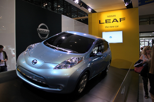 90 Percent of Nissan Leaf Reservations are Conquest Orders
